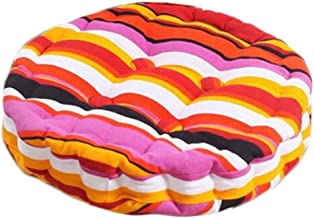 Home/Office Beautiful Round Chair Cushion Floor Cushion Pillow Seat Pad, Stripes