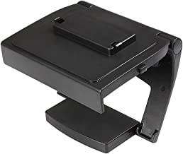 TNP Xbox One TV Mounting Clip - Black Plastic Adjustable Sensor Camera TV Clip Monitor Mount Dock Holder Stand Bracket for Microsoft Xbox One Kinect 2.0 [Xbox One]
