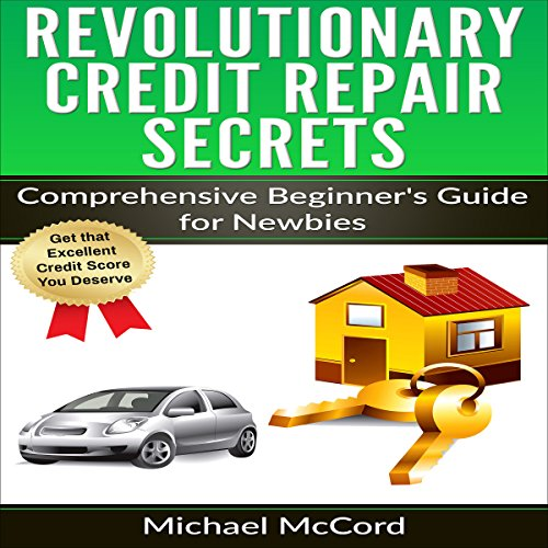Revolutionary Credit Repair Secrets audiobook cover art