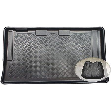Zentimex Z3131282 Gummierte Kofferraumwanne Fahrzeugspezifisch Klett Organizer Laderaumwanne Kofferraummatte Auto