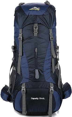 A-SSJ Sac d'escalade en plein air grande capacité étanche camping sac à dos imperméable à l'eau randonnée sac à dos matériel fournitures