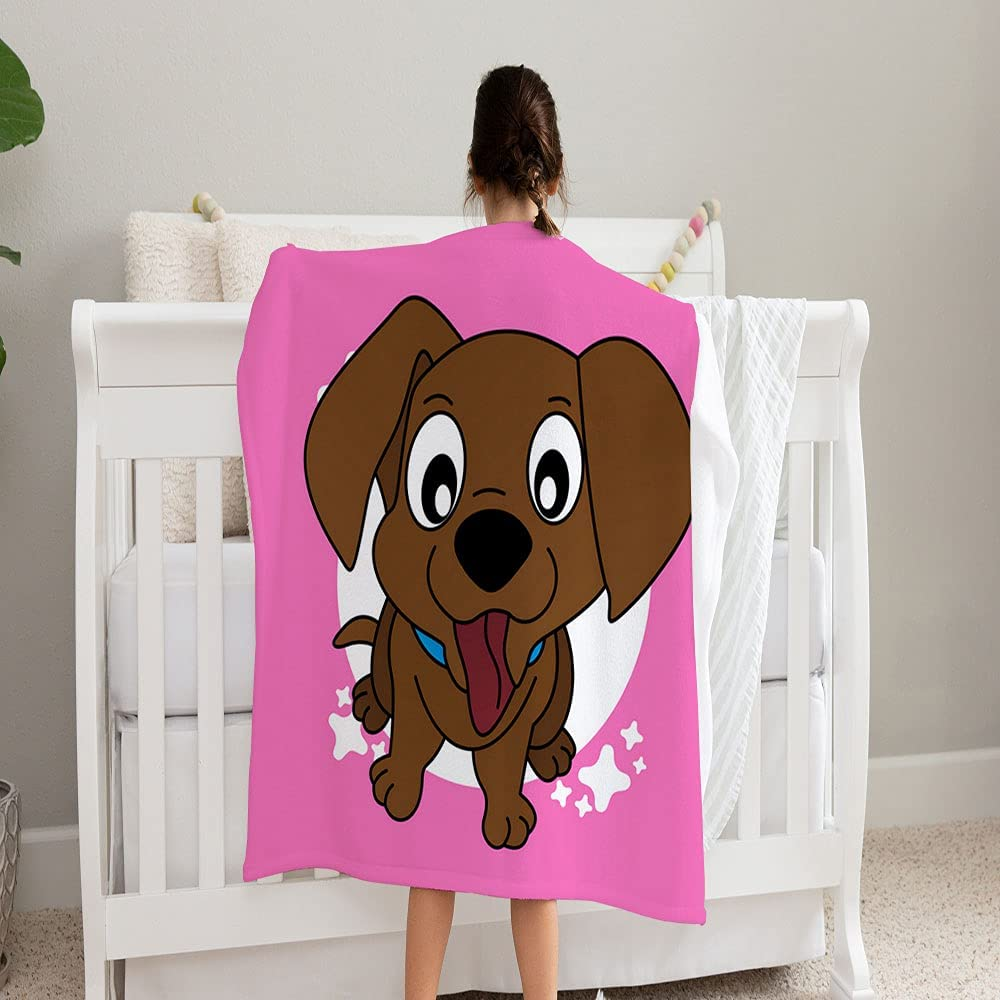 SAYOMEN Brown Puppy Pull Out His Blan Fleece Ranking TOP14 Cozy Super Soft Albuquerque Mall and