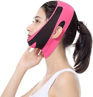 wsbdking Face-lift riemen elastische afslankende bandage v lijn shaper chin cheek heffen riem gezicht anti rimpel zorg a (...