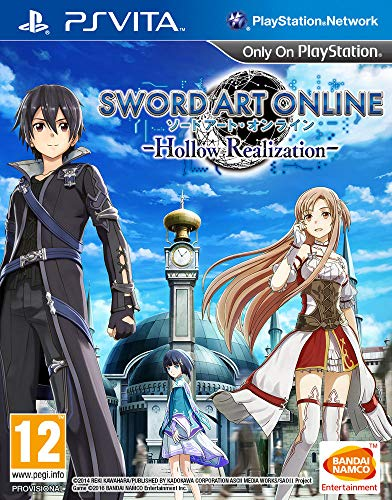 Namco Bandai Games Sword Art Online: Hollow Realization, PS Vita Básico PlayStation Vita Inglés vídeo - Juego (PS Vita, PlayStation Vita, Acción / RPG, Modo multijugador, T (Teen))