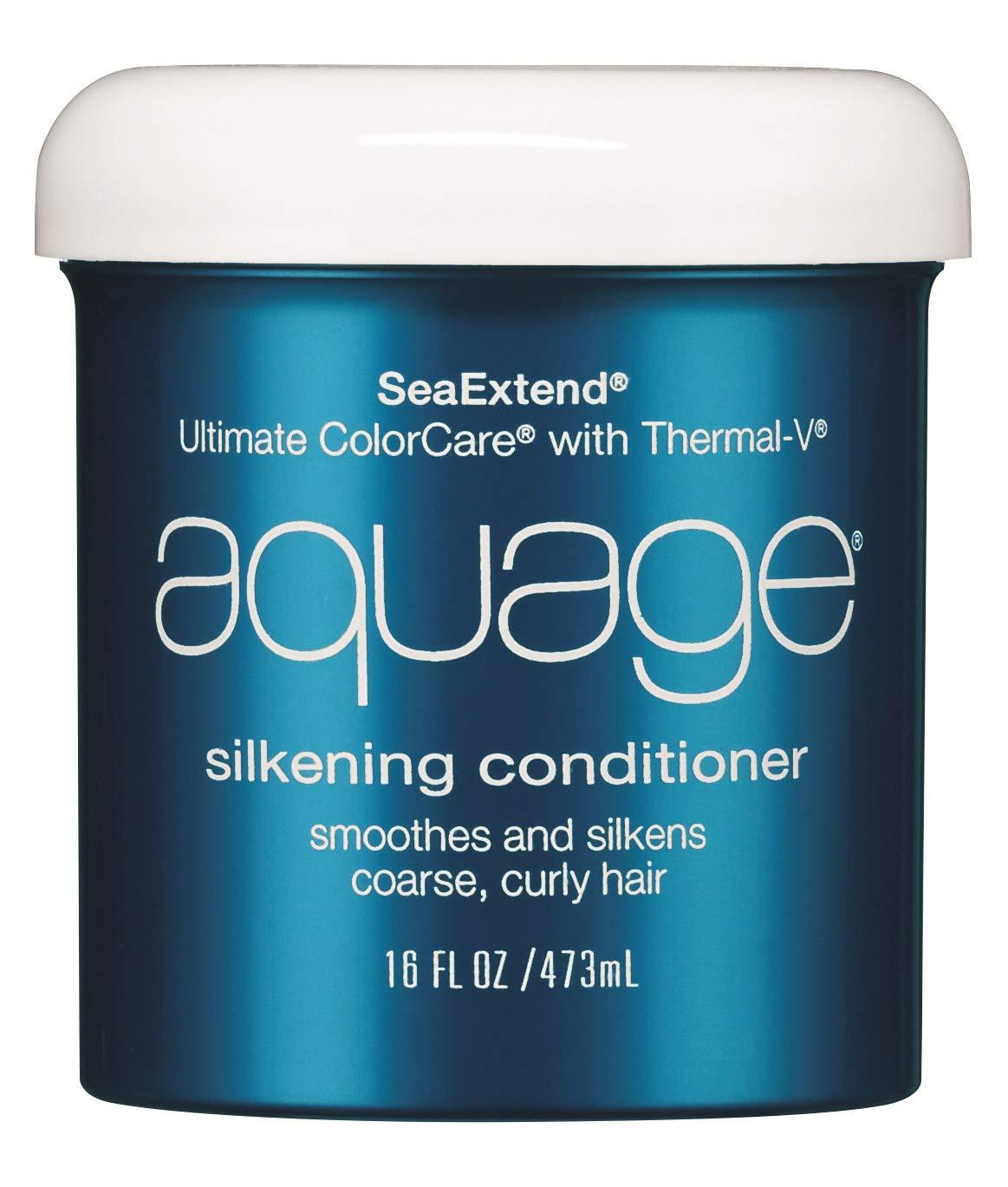 AQUAGE Silkening Detroit Mall Conditioner 16 oz. Luxurious Provides Elegant Co Dual