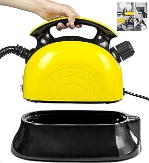 MZYKA La esterilización eléctrica más Limpia o una Estufa de la casa Aire Acondicionado Cristal Piso Cocina, Vapor a Alta Temperatura Pulverización La desinfección de la máquina, Amarillo