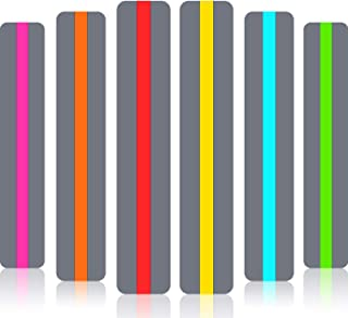 Zonon Guided Reading Strips Highlight Strips Colored Overlay Highlight Bookmarks Help with Dyslexia for Crystal Children a...