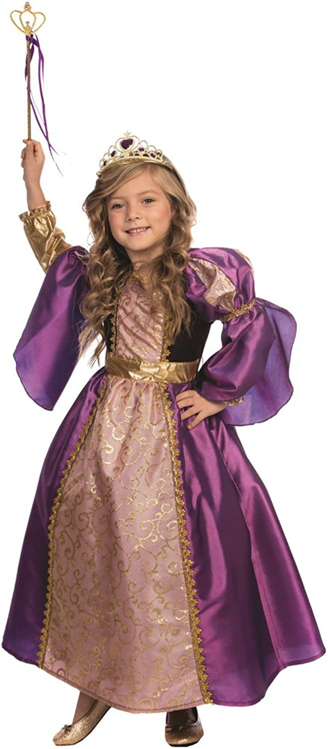 Purple Royalty Princess Costume for Kids