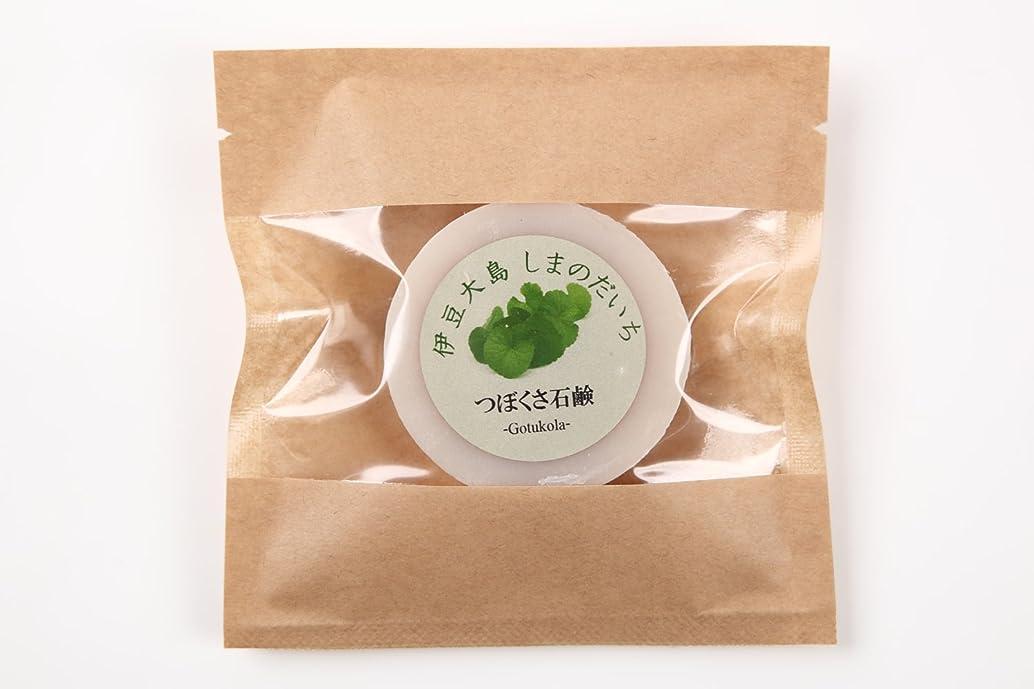 ノーブル額威するツボクサ(ゴツコラ)の石鹸(伊豆大島産)