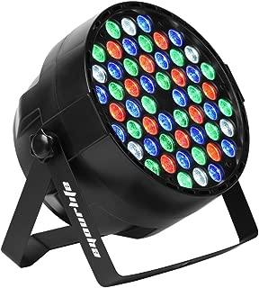 Eyourlife 54X3W Stage Light LED DJ PAR Light RGBW 162Watt DMX 512 Stage Lighting Disco Projector