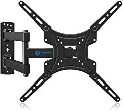 Best Full Motion TV Wall Mount Bracket Articulating Arms Swivels Tilts Extension Rotation for Most 13-55 Inch LED LCD Flat Curved Screen TVs, Max VESA 400x400mm up to 66lbs by Pipishell Review
