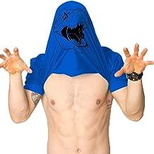 Foowni Mens T Rex Shirt Cool Trex Flip Shirt Funny Short Sleeve Letter Dinosaur Shirt