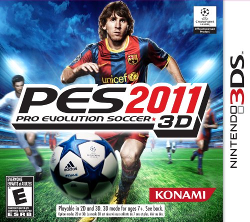 Konami Pro Evolution Soccer 2011 3DS - Juego