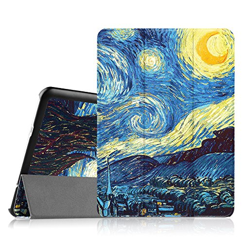 FINTIE Custodia per Samsung Galaxy Tab S2 9.7 - Ultra Sottile di Peso Leggero Tri-Fold Case Cover con Funzione Sleep/Wake per Samsung Galaxy Tab S2 9.7' T810N / T815N / T813N / T819N, Starry Night