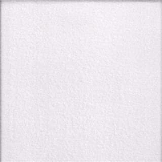 Textile Creations Double Brushed Solid Fleece Fabric, White, Fabric By The Yard