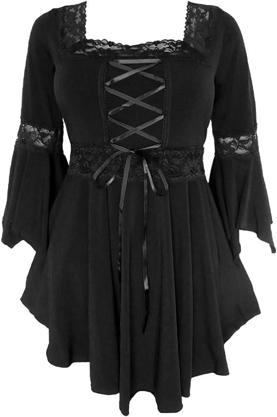 Plus Size Gothic Renaissance Corset Style Dress