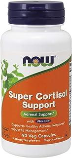 NOW Supplements, Super Cortisol Support (Combines Vitamin C, Pantothenic Acid, and Chromium Chelavite with Relora), 90 Veg Capsules