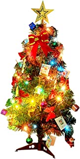 pre decorated mini christmas trees