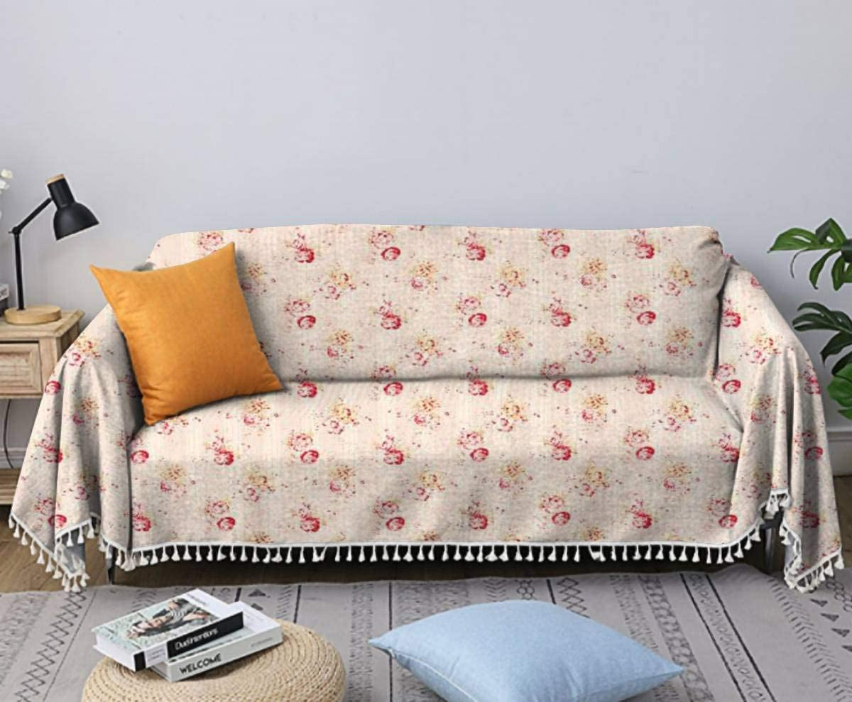 Colby Bouquet Antique Floral Fabric Chair Slipc Towel Sofa Limited time Super-cheap for free shipping Cover