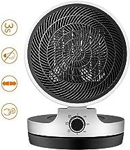 LYzpf Rápido Calentador de Ventilador Mini Pequeña Cerámica Aire Personal Portátil Calefactor Eléctrico Ajuste de 90 ° para Habitación Oficina Baño
