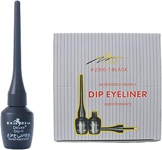 Italia Deluxe 36 Pcs Moisturizing Vitamin E Dip Eyeliner Water Resistance