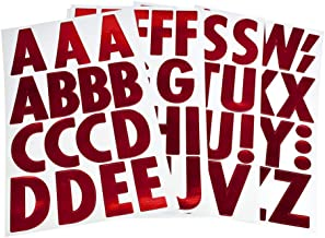 red alphabet letters