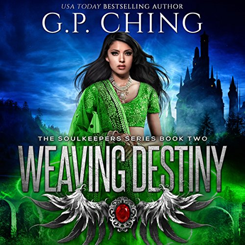Weaving Destiny audiobook cover art