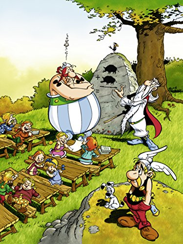 Ravensburger Jigsaw Puzzle - Asterix, Going to College - 100 Pieces XXL