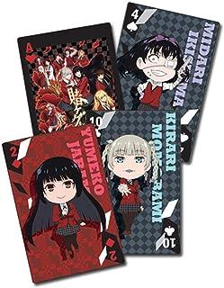 Great Eastern Entertainment Kakegurui Big Group Playing Cards