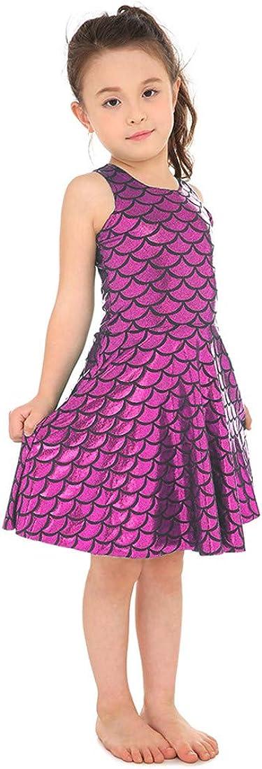 Yiwbeij Mermaid Costume for Girls