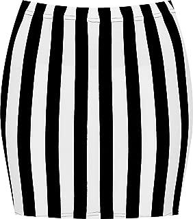 WearAll Women's Print Mini Skirt