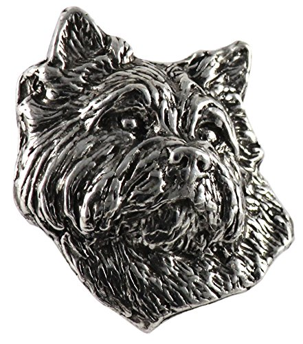 Creative Pewter Designs Cairn Terrier Pin D042