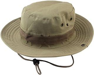 iLXHD Adjustable Boonie Hats Cap Fisherman Outdoor Sun Protection Hunting  Hat 09455b801f0