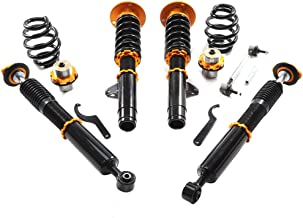 OCPTY Coilovers Suspension Lowering Kit Adjustable Full Coil Springs Struts Shock fit for 1998 BMW 318i /1998-1999 BMW 318ti /2000 BMW 323Ci /1998-2000 BMW 323i /1998-1999 BMW 323is