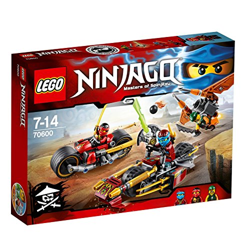 LEGO Ninjago 70600: Ninja Bike Chase Mixed