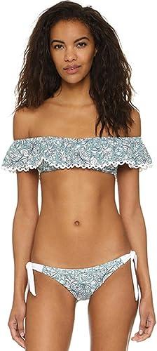 REFAGO Piggy-Backed Ruffled Bikini