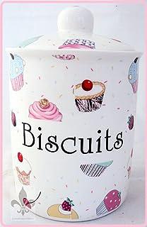 Lunares de galletas con forma de lata de porcelana fina rosa de almacenamiento con forma de tarro de galletas con forma de mano en el Reino Unido de entrega Reino Unido