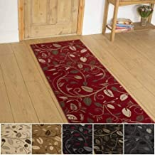 Beige Black 600cm Tartan Hallway Carpet Runner Blue Brown Any Length Between 150cm Gold or Red//Green
