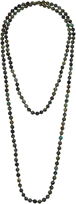 Hand Knotted Genuine Gemstone Necklace