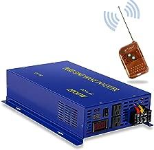 2000W Pure Sine Wave Inverter - 12V DC to 110V 120V w/Wireless Remote Switch 4000 watt Surge, Power Converter for Solar System, Off Grid. (2000W/12V/Remote Switch)