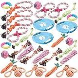 Sweetypet Hunde-Spielzeugsets: 30er-Set Bunte...