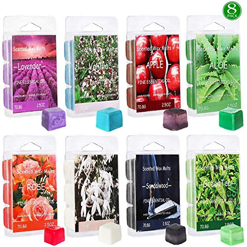 Aceites esenciales para plantas, velas de aromaterapia, quemadores de incienso, suministros para bodas y fiestas de cumpleaños, bloques de cera de soja