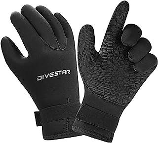 Wetsuit Gloves Neoprene Scuba Diving Gloves Surfing Gloves 3MM 5MM for Men Women Kids, Thermal Anti Slip Flexible Dive Wat...