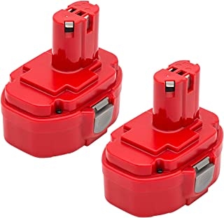 ROALLY 2 Pack 1822 Replacement Battery 18V 3000mAh for Makita 1823 1833 1834 1835 1835F 192828-1 192829-9 193061-8 193102-0 193140-2 193159-1 193783-0