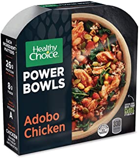 Healthy Choice Power Bowls Frozen Dinner, Adobo Chicken Bowl, 9.75 Ounce