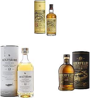 John Dewar & Sons Die Single Malt Whisky Kollektion, Flaschen in voller Größe 3 x 0,7 l
