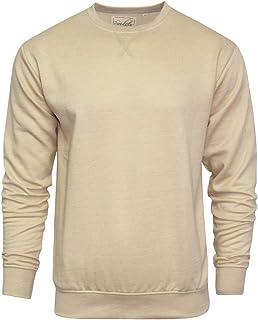 Mens Sweatshirt Soulstar Designer Crew Neck Pull Over Casual Plain Jumper