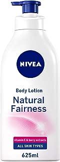 NIVEA, Body Care, Body Lotion, Natural Fairness, Dry Skin, 625ml