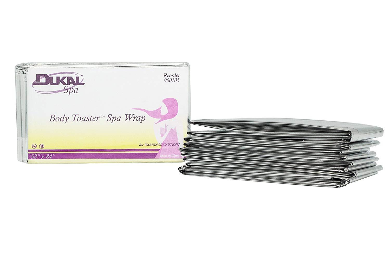 Dukal Body Toaster Spa Wrap, Silver