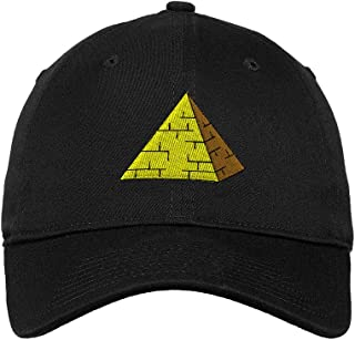 Custom Soft Baseball Cap Pyramid Embroidery Dad Hats for Men & Women